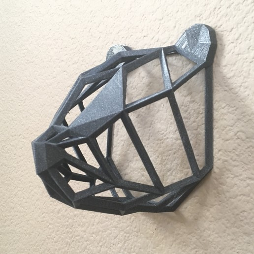 IMG_8970.JPG Download free STL file Wire Frame Panda Head • 3D printable design, caitlin_le