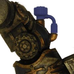 Télécharger objet 3D gratuit 40k Grand Faucheur Titan - Pressuriseur hydrolique à main Titan, The_Titan_Manifactorium