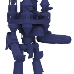 Download free 3D printer files 40k Small Titan Empire Impero Titan, The_Titan_Manifactorium