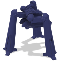 Download free 3D printing models 40k Small Titan Punisher Titan, The_Titan_Manifactorium