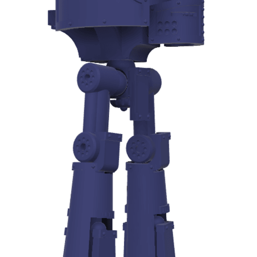 Download free 3D printer templates 40k Small Titan Rapier Titan, The_Titan_Manifactorium