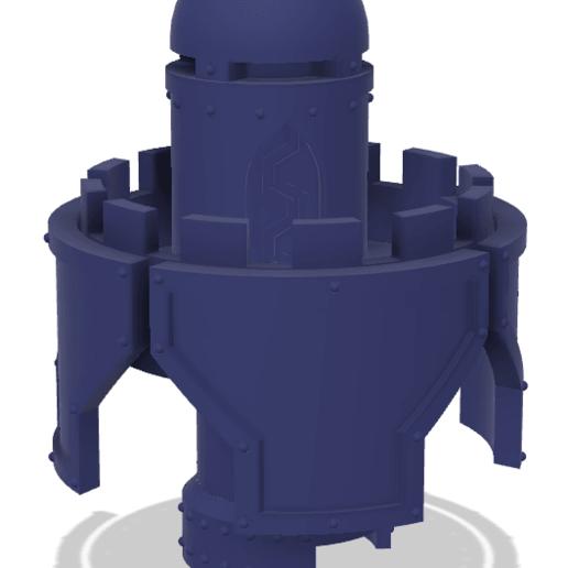 Download free 3D printer model 40k Big Wall Lord Titan Fire Control Centre, The_Titan_Manifactorium