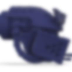 Download free 3D printing designs 40k Big Wall Lord Titan Crusader Alpha Pattern Head, The_Titan_Manifactorium