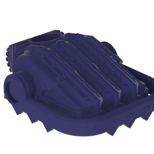 Download free 3D printer model 40k Big Wall Lord Titan Rubble Claws, The_Titan_Manifactorium