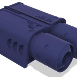 Descargar Modelos 3D para imprimir gratis 40k Titan Reaper Jumpjet pequeño, The_Titan_Manifactorium