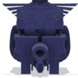 ScreenHunter 494.png Télécharger fichier STL gratuit Casque Knight Firebreather à motifs 40k • Objet imprimable en 3D, The_Titan_Manifactorium