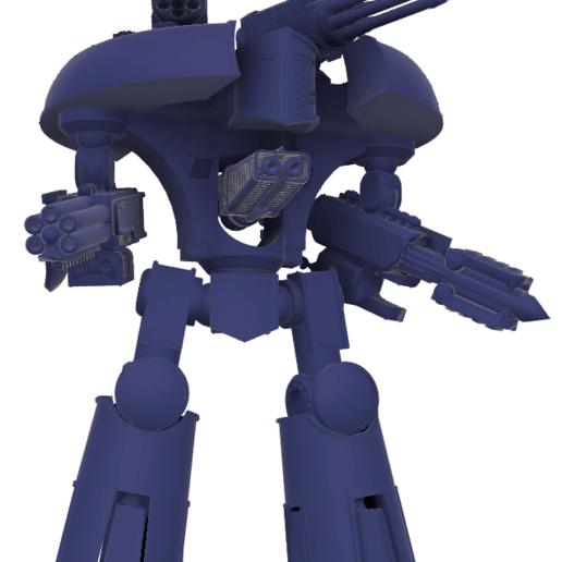 Download free STL file 40k Small Titan Seige Titan, The_Titan_Manifactorium