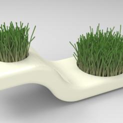 untitled.96.png Download STL file Vase Planter • 3D printing object, BrunoLopes