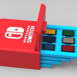 Download 3D printer templates Nintendo switch cartridges and sd, 3dBras