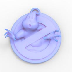 Download 3D printer designs Ghostbusters Key Chain, 3dBras