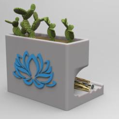 Download 3D printer model Pen Holder Vase, 3dBras