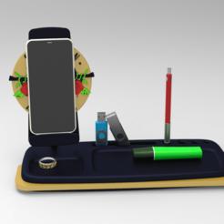 organizador celular.728.png Télécharger fichier STL Organiseur de bureau • Objet pour impression 3D, BrunoLopes