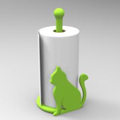 Download STL files Paper Towel Holder, 3dBras