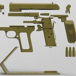 untitled.247.jpg Download STL file TT-33 Pistol • 3D printing model, BrunoLopes