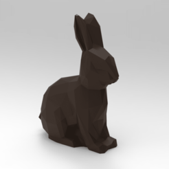 Download 3D printing files Low Poly Bunny, 3dBras