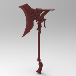 untitled.250.jpg Download STL file Mythical Axe • 3D print design, 3dBras