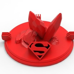 001.jpg Download STL file Kryptonite Crystal • 3D printer template, BrunoLopes