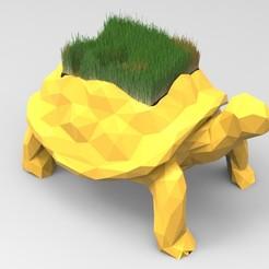 Télécharger fichier STL Vase de la tortue, 3dBras