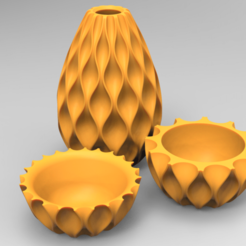 Download 3D printing templates Sequence Vase, 3dBras