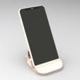 suporte r2d2.143.png Download STL file Smartphone Support R2D2 • 3D printer object, BrunoLopes
