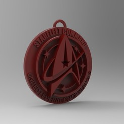 Download 3D printing files Star Trek Keychain, 3dBras