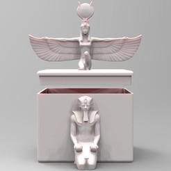 03.jpg Download STL file Egyptian Box • 3D printing model, BrunoLopes