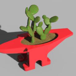 Impresiones 3D Jarrón de yunque, 3dBras