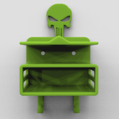1.fw.png Download STL file Holder Thing punisher • Template to 3D print, 3dBras