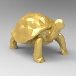 untitled.64.jpg Download STL file Low Poly Tortoiset • 3D printable model, 3dBras
