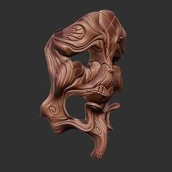 M2.jpg Télécharger fichier OBJ Modèle d'impression 3D d'un masque facial • Modèle pour imprimante 3D, Joneto