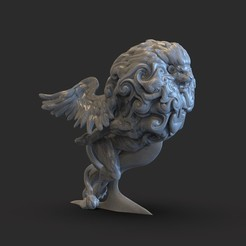 Download 3D printer designs Chimera car ornament, Joneto
