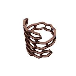 HCR1.jpg Download OBJ file Honeycomb Ring 3D print model • 3D print design, Joneto
