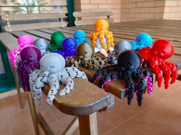 Captura de Pantalla 2019-09-03 a la(s) 12.36.41 p. m..png Télécharger fichier STL gratuit Jolie pieuvre miniature • Modèle pour imprimante 3D, jaumecomasfez