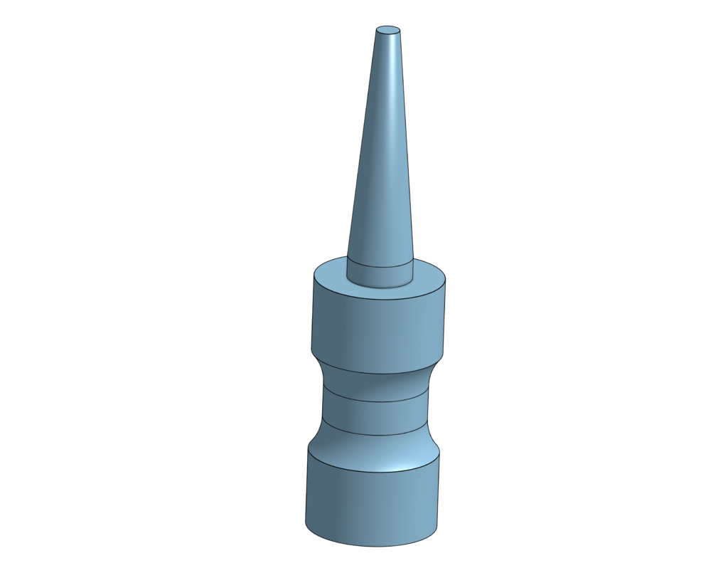 Part_Studio_1.png Download free STL file PTFE Plug • 3D printable model, Whifflesauce