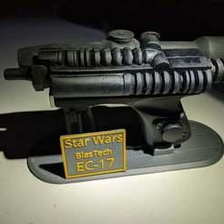Télécharger fichier STL gratuit Stand de l'EC-17 • Modèle à imprimer en 3D, Whifflesauce