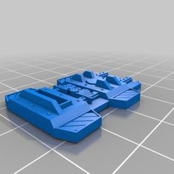 Télécharger fichier STL gratuit Bouclier tactique de la tour • Design pour imprimante 3D, davikdesigns