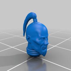 Télécharger fichier STL gratuit Légions mongoles : Têtes • Modèle à imprimer en 3D, davikdesigns