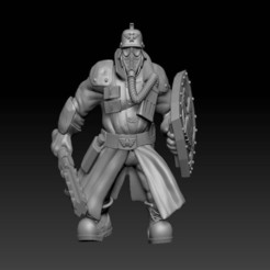 Impresiones 3D gratis El núcleo de la muerte: Ogrillions, davikdesigns
