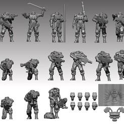 redner7.jpg Télécharger fichier STL Fusils à l'élysée • Modèle pour imprimante 3D, davikdesigns