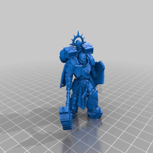 warhammer.png Télécharger fichier STL gratuit le capitaine de smashy War Hammer • Modèle pour imprimante 3D, davikdesigns