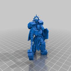 Download free 3D printing designs smashy captain War Hammer, davikdesigns