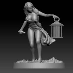 Impresiones 3D gratis sobreviviente femenina #2, davikdesigns
