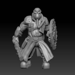 ogryn.jpg Télécharger fichier STL gratuit Légion de métal : Ogre • Objet à imprimer en 3D, davikdesigns
