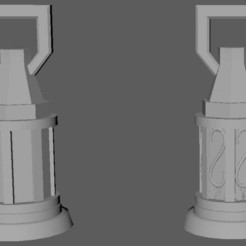 Télécharger modèle 3D gratuit Les lanternes du Royaume, davikdesigns