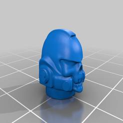 Impresiones 3D gratis Reaver Head HD, davikdesigns