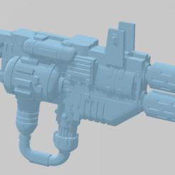 Descargar Modelos 3D para imprimir gratis Armas pesadas de ciencia ficción, graudnov