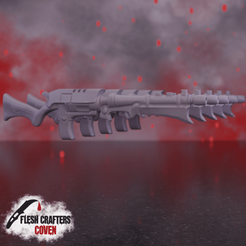 Shard_Rifle.png Download STL file Nosferii - Shard Rifle • 3D printable design, fleshcrafterscoven