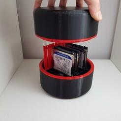 Télécharger fichier STL CAS DE DISQUE DUR • Design imprimable en 3D, JMDRBLUE