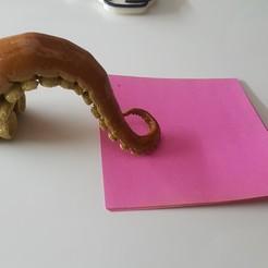 Imprimir en 3D gratis Imán de tentáculo para nevera, dicker82