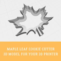 Descargar diseños 3D Cortapastas de hojas de arce, doll_laugh_love
